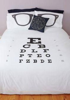 eyes duvet