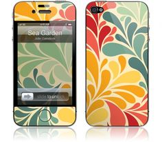 'Sea Garden' Gelaskin for the iPhone 4/4S