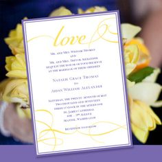 Printable Wedding Invitation Template It's by WeddingTemplates