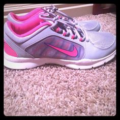 Nike size 7 Worn once great condition Nike Shoes Athletic Shoes