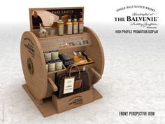 Beautiful The Balvenie Point Of Purchase unit for a premium Whisky. #POS