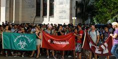 Jóvenes cubanos rechazan acciones subversivas de Estados Unidos (Audio y Fotos) - Radio Rebelde