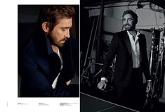 Lee Pace Covers Crash Magazine, Talks Working with Peter Jackson on The Hobbit
