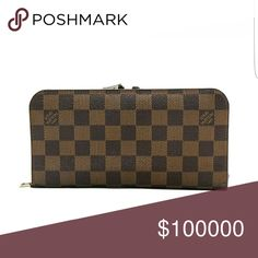 ISO Louis Vuitton Insolite Damier ISO Louis Vuitton Insolite Damier Lost mine about a year ago. Want to find a good deal to replace. I have another that I use everyday so looking for a deal. Lost in Orlando. Sister left sitting on roof of car. Might be sitting on the side of the highway. Cards were never used. Anyone want to go look??? ?? Louis Vuitton Bags Wallets