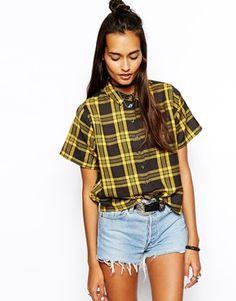 ASOS Shirt in Bright Check