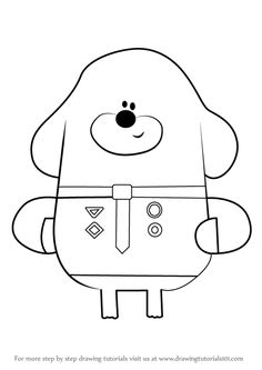 How to Draw Enid from Hey Duggee step by step, learn drawing by this tutorial for kids and adults.