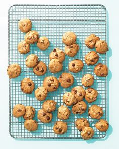 5-ingredient chocolate chip cookies at Martha Stewart. Gluten free, and fast to make.