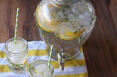 Lemon & Thyme Flavored Water : tastykitchen.com