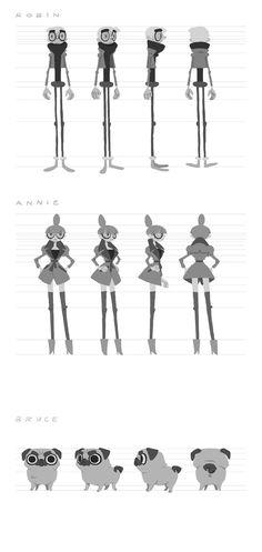 Annie, curta de graduação da Gobelins | THECAB - The Concept Art Blog via PinCG.com