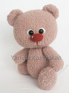 Baby Bear amigurumi knitting pattern by jasminetoys on Etsy