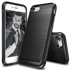 iPhone 7 Plus Case, Ringke [Onyx] [Resilient Strength] Fl…