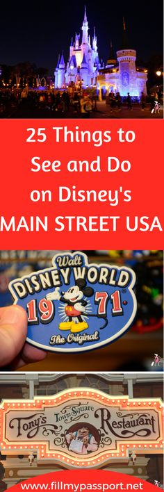 Disneys Magic Kingdom is comprised of 5 different areas. But have you explored each world thoroughly to embrace all the magic? We are here to help! This is an ultimate guide to Main Street USA! Did you know you could get your haircut here or that there is confectionery potpourri? A talking Mickey Mouse and you can become a sorcerer? Check out our guide to get the most out of Main Street USA! #Disney #Waltdisneyworld #disneytravel #disneyworldtraveltips #disneymainstreetusa #disneyguide