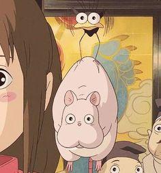 Spirited Away - Miyazaki/ Studio Ghibli Hayao Miyazaki, Studio Ghibli Art, Studio Ghibli Movies, Studio Ghibli Characters, Anime Disney, Manga Anime, Anime Art, Chihiro Y Haku, Poses References