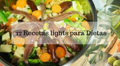12 recetas light - y hoy que comemos