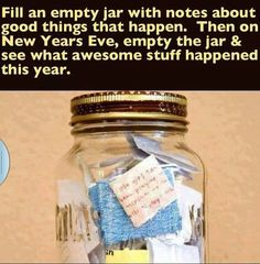 We are doing this in 2014 and reading it next mew years eve!!! Love this idea!