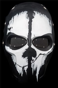 Airsoft Mask Army of Two Paintball BB Gun Protective Gear CALL OF DUTY GHOSTS