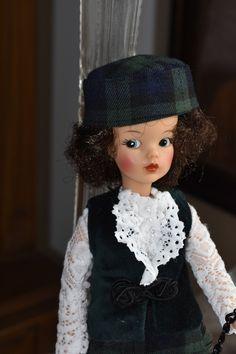 Velvet Ribbon, Cotton Velvet, Countryside Style, Tammy Doll, White Cocktails, Scottish Plaid, Sindy Doll, White Cocktail Dress, Plaid Fabric