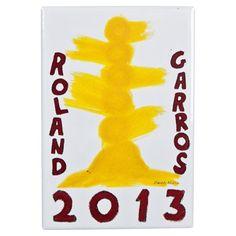Roland-Garros Poster Fridge Magnet