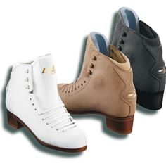 Graf Dance Figure Skating Boot - I will buy the beige ones when I win the lottery & get husband to start dancing with me!