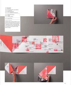 Brochure - no como se dobla, si no la info dentro. aunque a lo mejor es muy moderneo Brochure Folds, Design Brochure, Creative Brochure, Brochure Template, Brochure Ideas, Leaflet Design, Booklet Design, Brochure Inspiration, Graphic Design Inspiration