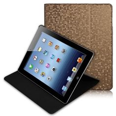 Chic and stylish leather cover with unique exterior design Manufactured using genuine leather designed for maximum protection Provides comfortable angle for viewing, typing and reading Ipad 3 Cases, Gadgets Online, Event Organization, Ipad 4, Leather Design, Box Design, Leather Cover, Conservation