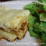 Freezer Meal Recipes save so much time and money! We love freezer meal cooking! {Pin This} It is fun to get a group together to cook freezer meals.