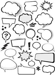 Bocadillos de Cómic en Vector (Vector Comic Bubbles)