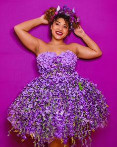 Easy DIY fairy costume as a Halloween outfit. Save this for your future reference. Get the full materials of this easy Halloween Costume here.  #colormecourtney #halloweencostumes #costumeideas #purplecostumes #purpledress #diyhalloweencostumes #lilacdress #easyhalloweencostumes #floralcostumes #floralhalloweencostumes Easy Halloween Costumes, Cute Costumes, Halloween Dress, Halloween Diy, Amazing Costumes, Halloween Stuff, Costume Ideas, Kids Dress Up, Dress Me Up