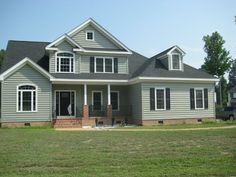 New home built by Patrick Mauld in Runningman - Poquoson, VA