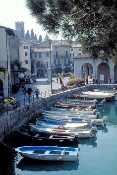 I use to live here! Desenzano del Garda, Lake Garda, Italy #gardaconcierge