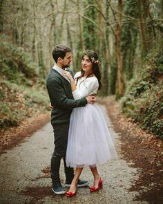 Boda indie en el bosque ¡Love it! {Foto, Paula G. Furió} #weddinginspiration #tendenciasdebodas