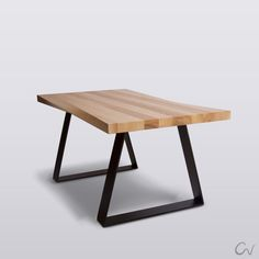twisted edge table, home design