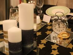 New Year\'s Eve table setting. | New Year\'s Eve by Zontho | Pinterest