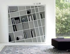 Elegant Modern Bookcase Unique Design More