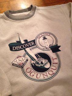 Vintage Ogunquit Maine Sweatshirt by 21Vintage on Etsy
