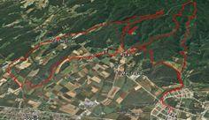 Vall de Ribes BTT: Celrà - Puig d'en Batet - Juià - Riera Gatell - Sant Martí Vell - La Costa - Juià - Celrà