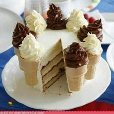 easy decorated cake...