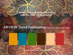 37 Best Fall Winter 2019 2020 Trends Images On Pinterest In 2018 Color Trends Design Trends