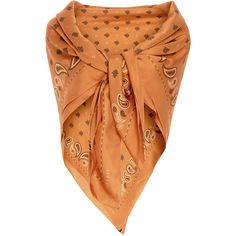 Ellery Caramel Maxime Silk Paisley Scarf ($380) ❤ liked on Polyvore featuring accessories, scarves, silk scarves, e l l e r y, paisley shawl, silk shawl and pure silk scarves
