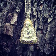 Praying Buddha Necklace