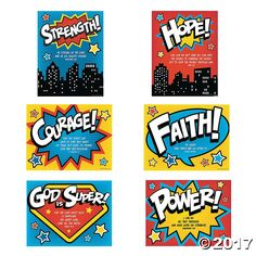 It's a bird, it's a plane, it's your newest superhero of faith! Inspire VBS students to do great things with their faith with this VBS ...