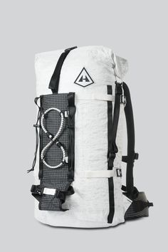 The 2400 Dyneema® Ice Pack is the ultimate versatile, indestructible, lightweight alpine and ice climbing pack. It weighs less than a liter of water and is made with waterproof Dyneema® Cuben Fiber. Hiking Gear, Camping Gear, Hiking Trails, Climbing Backpack, Mountain Gear, Ultralight Backpacking, Backpacking Hammock, Designer Backpacks, Backpack Bags