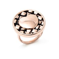 Amazing ring! I think i am going to buy it!!! :)  ANELLO BRONZO IN BAGNO DI ORO ROSA EURO 39,00