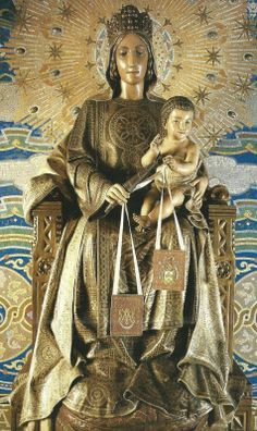 Virgen del Carmine A Spanish statue of Our Lady of Mount Carmel.