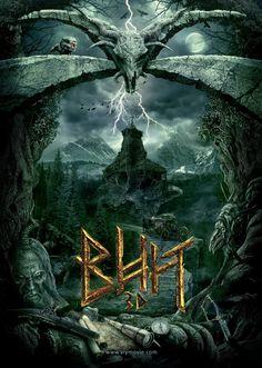 Mega Sized Movie Poster Image for Viy. Vozvrashchenie