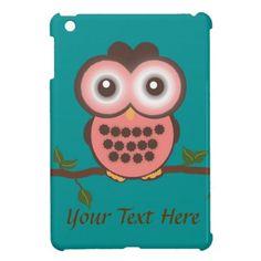 Cute Owl iPad Mini Case $39.95