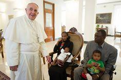 SHARE Pope Francis meets #MeriamIbrahim Sudan Woman sentenced to Death is Free - Breaking NEWS http://jceworld.blogspot.ca/2014/07/pope-francis-meets-meriamibrahim-sudan.html
