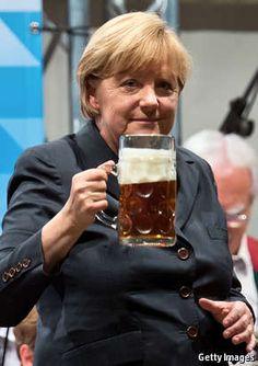 Angela regina | The Economist