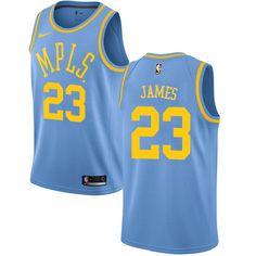 613dd03ce95c Nike Lakers  23 LeBron James Royal Blue Youth NBA Swingman Hardwood Classics  Jersey