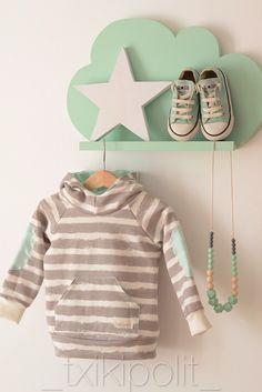 Tutorial B&T Sweatshirt Knitting For Kids, Sewing For Kids, Baby Sewing, Diy For Kids, Sew Baby, Dresscode, Diy Clothes, Baby Dress, Crochet